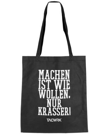 TACWRK - Shopper Bag Machen ist wie Wollen