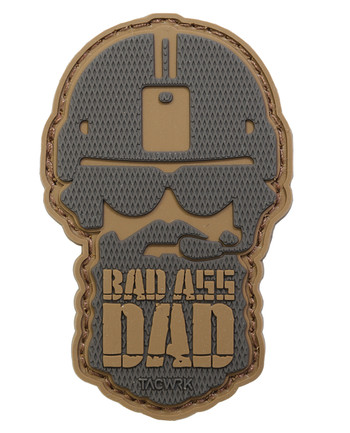 TACWRK - Bad Ass Dad Patch Coyote