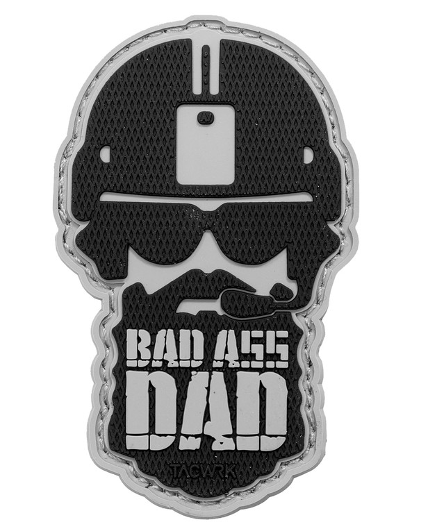 TACWRK Bad Ass Dad Patch Swat