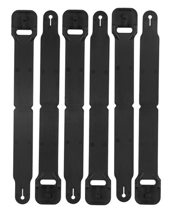 High Speed Gear - HSGI Clip Short Pack of 6 Black