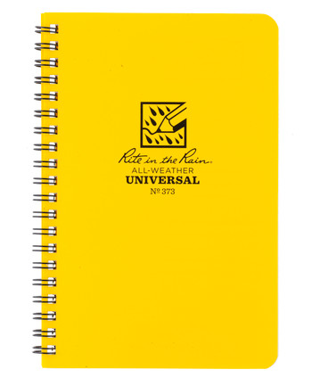 Rite in the Rain - Side-Spiral Notebook Universal Yellow