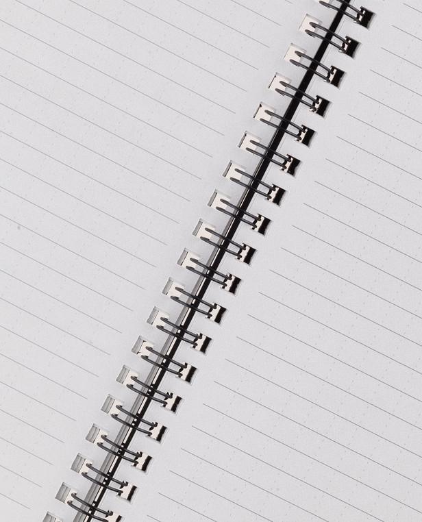 Rite in the Rain Side-Spiral Notebook Universal Black