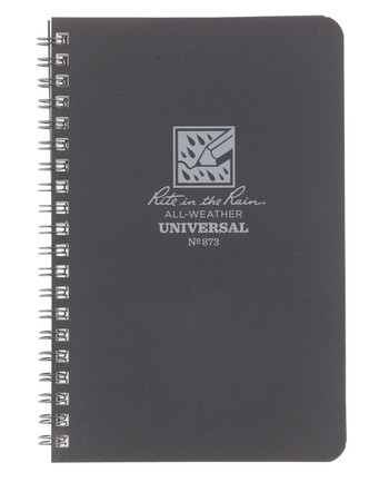 Rite in the Rain - Side-Spiral Notebook Universal Grey