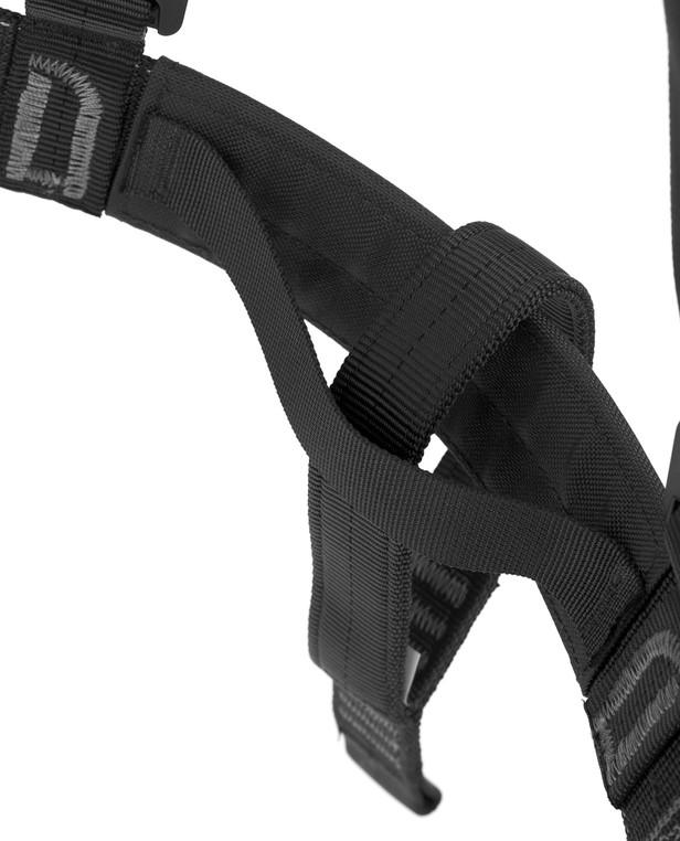 md-textil Brustgurt MGS Schwarz