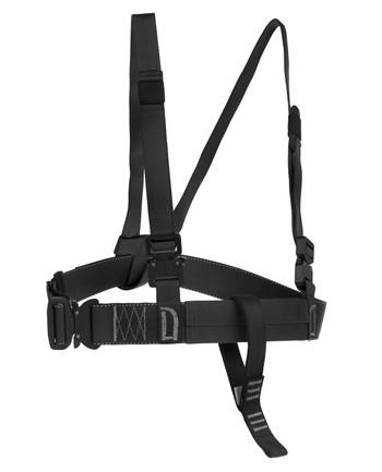 md-textil - Brustgurt MGS Schwarz
