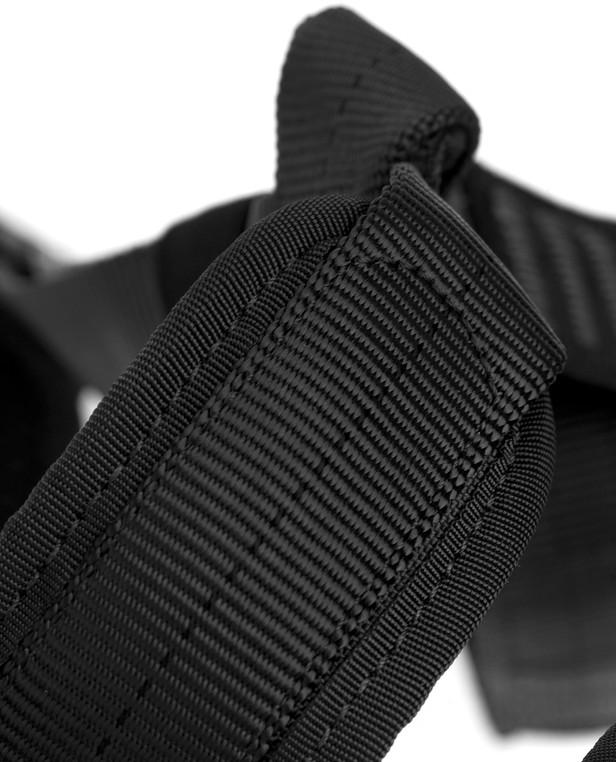 md-textil Beinschlaufen MGS Schwarz