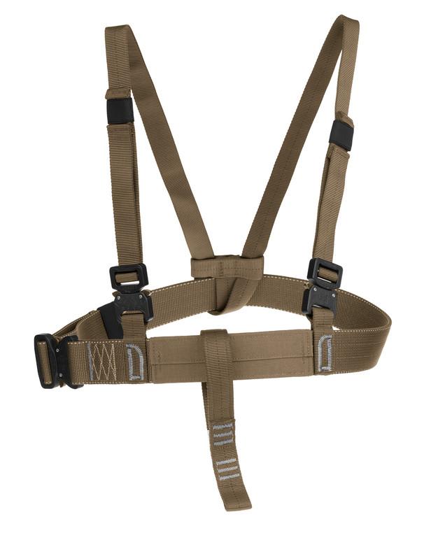 md-textil Brustgurt MGS Coyote Braun
