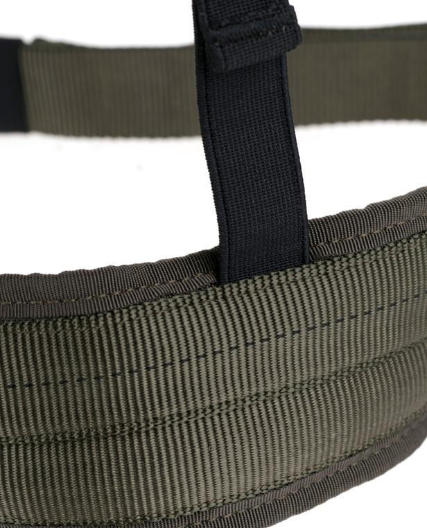 md-textil Beinschlaufen MGS Steingrau Oliv