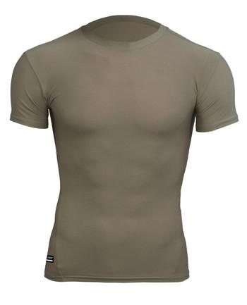 Under Armour - Tactical T-shirt HeatGear Compression Desert Sand