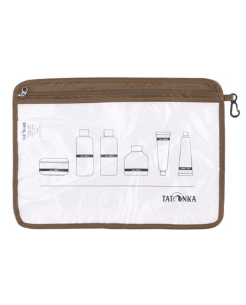 Tatonka - Zip Flight Bag A4 Transparent