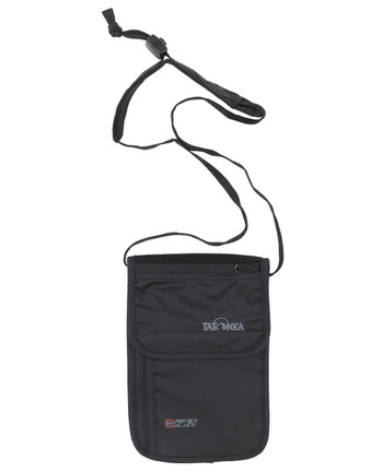 Tatonka - Skin Neck Pouch RFID B Black