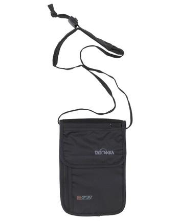 Tatonka - Skin Neck Pouch RFID B Black Schwarz