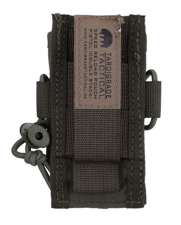 Tardigrade Tactical Speed Reload Pouch Pistol 9mm Double Stack PALS Ranger Green