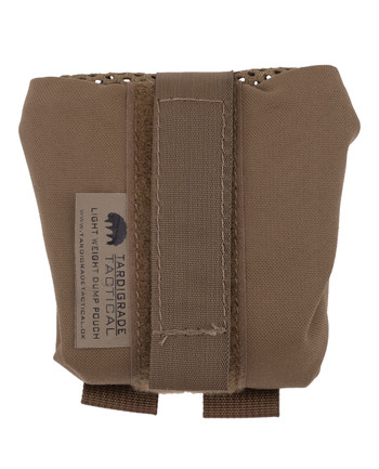 Tardigrade Tactical - Light Weight Dump Pouch PALS Coyote Brown