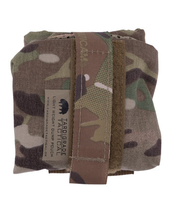 Tardigrade Tactical - Light Weight Dump Pouch PALS Multicam