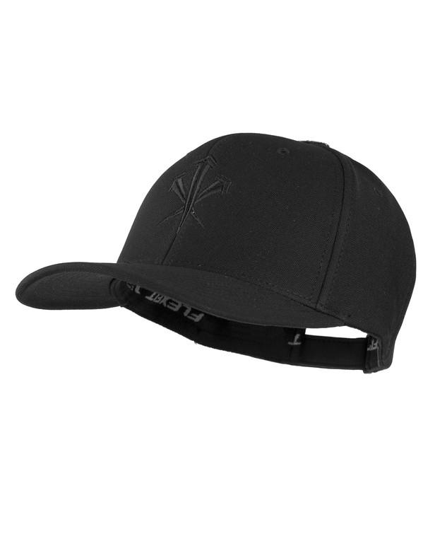 LMSGear Flexfit SnapBack Cap Black Schwarz