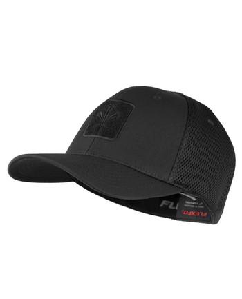 LMSGear - Flexfit Cap Mesh Black Velcro