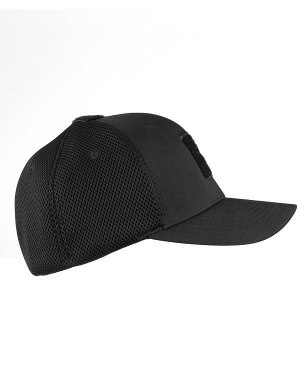 LMSGear Flexfit Cap Mesh Black Velcro