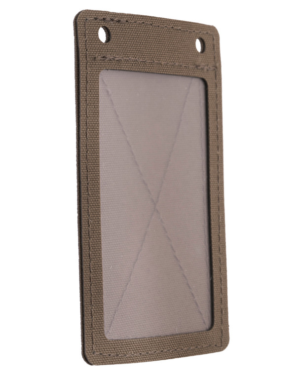 md-textil ID Card Holder Velcro Coyote Brown