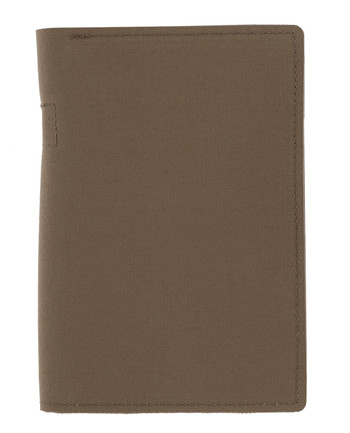 md-textil - Document Case A6 w/ Zipper Coyote Brown