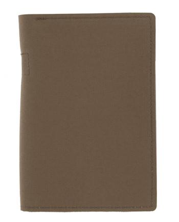 md-textil - Dokumentenmappe A6 mit Reißverschluss Coyote Brown