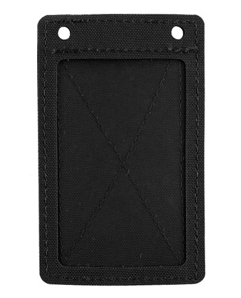 md-textil - ID Card Holder Velcro Black