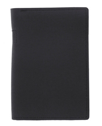 md-textil - Document Case A6 w/ Zipper Black