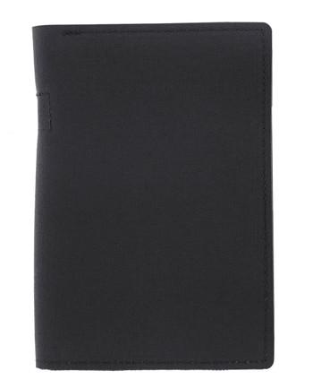 md-textil - Dokumentenmappe A6 mit Reißverschluss Schwarz