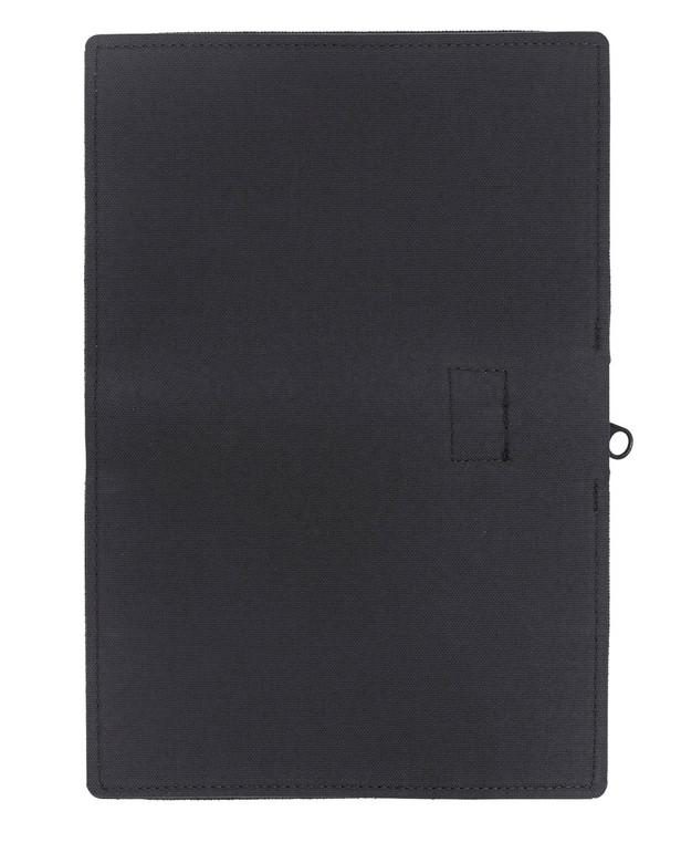 md-textil Document Case A6 w/ Zipper Black