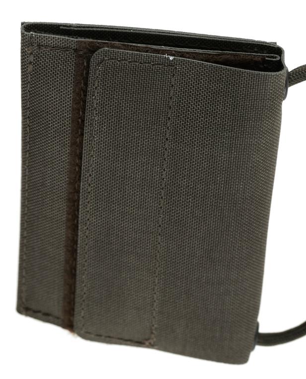 md-textil ID Card Wallet 2.0 Stonegrey Olive