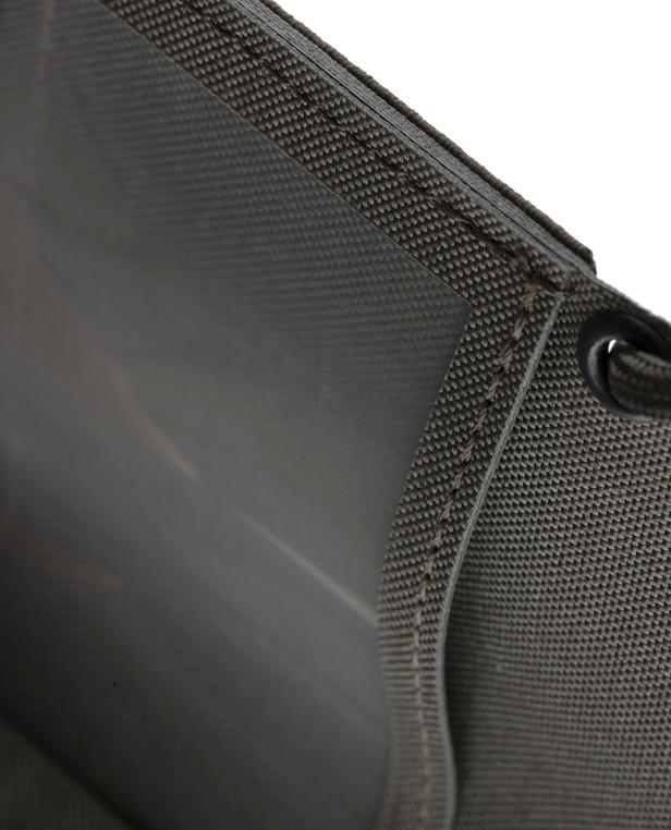 md-textil Dienstausweistasche 2.0 Steingrau Oliv