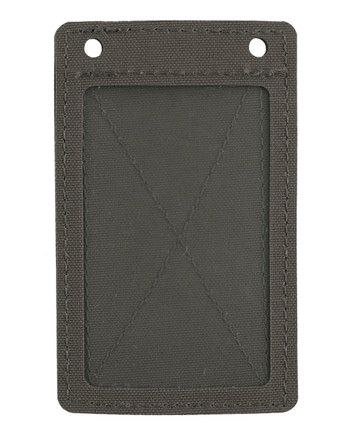 md-textil - ID Card Holder Velcro Stonegrey Olive