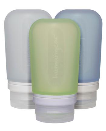 humangear - GoToob 100ml Set of 3 TRANSPARENT/GREEN/BLUE