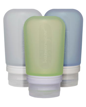 humangear - GoToob 74ml Set of 3 TRANSPARENT/GREEN/BLUE