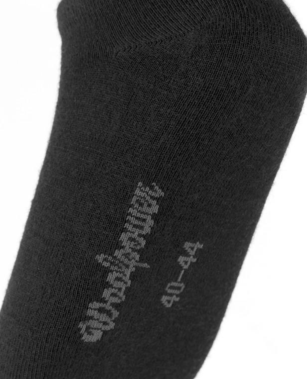 Woolpower Shoe Liner Black Schwarz