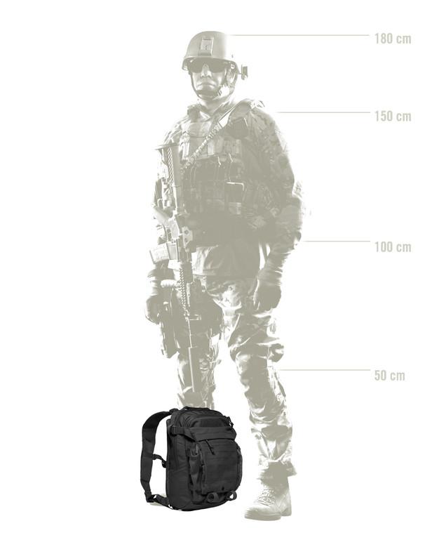 TASMANIAN TIGER TT Assault Pack 12 Schwarz