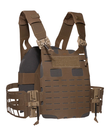 TASMANIAN TIGER - Plate Carrier QR SK Anfibia Coyote Brown