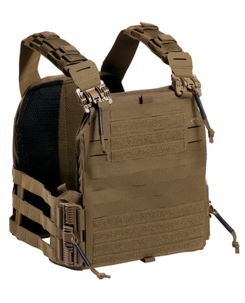 TASMANIAN TIGER - Plate Carrier QR LC Coyote Brown