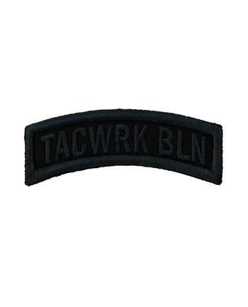 TACWRK - Bow Patch Stitched Black