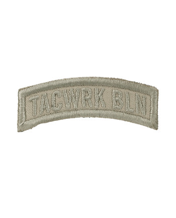 TACWRK - Bow Patch Stitched Tan