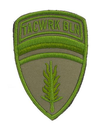 TACWRK - Brigade Patch Gestickt Grün