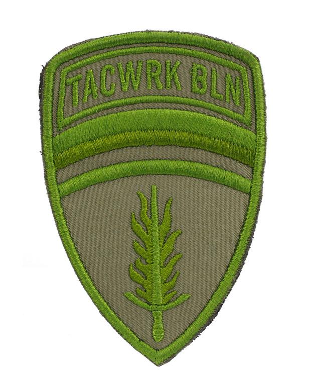 TACWRK Brigade Patch Stitched Green