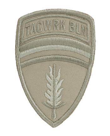 TACWRK - Brigade Patch Gestickt Tan
