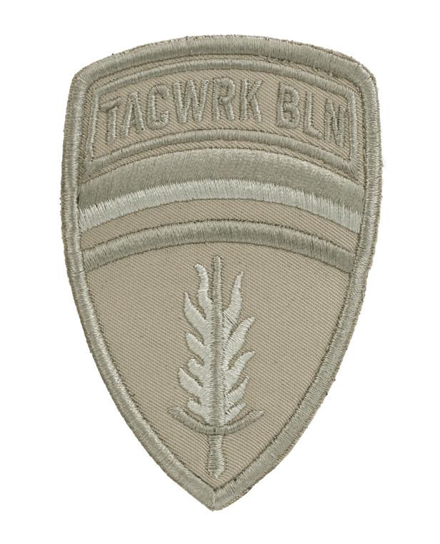 TACWRK Brigade Patch Stitched Tan