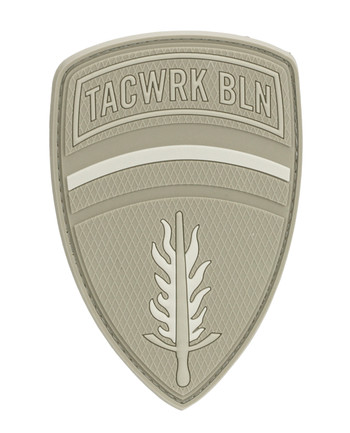 TACWRK - Brigade Rubber Patch Tan