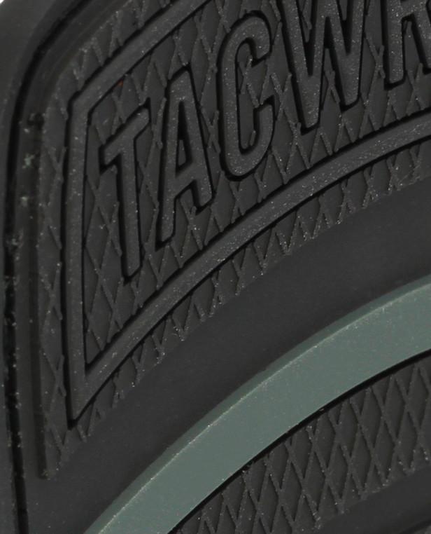 TACWRK Brigade Rubber Patch Schwarz