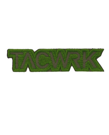 TACWRK - Cutout Patch Stitched Green