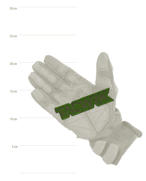 TACWRK Cutout Patch Gestickt Grün