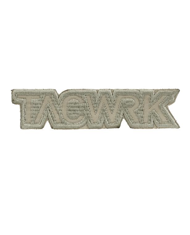 TACWRK Cutout Patch Gestickt Tan