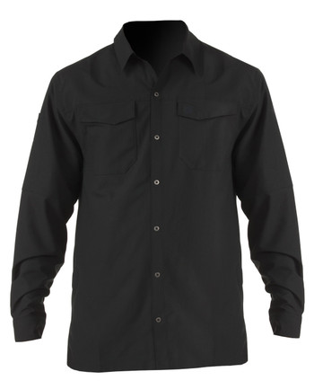 5.11 Tactical - Freedom Flex Long Sleeve Shirt, Black
